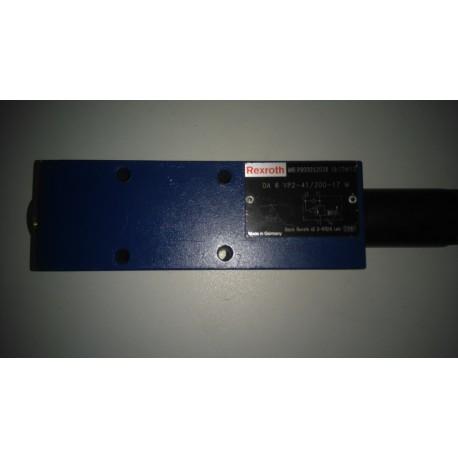 rexroth da 6 vp2-41/200-17m r900052038 r 900052038 valve