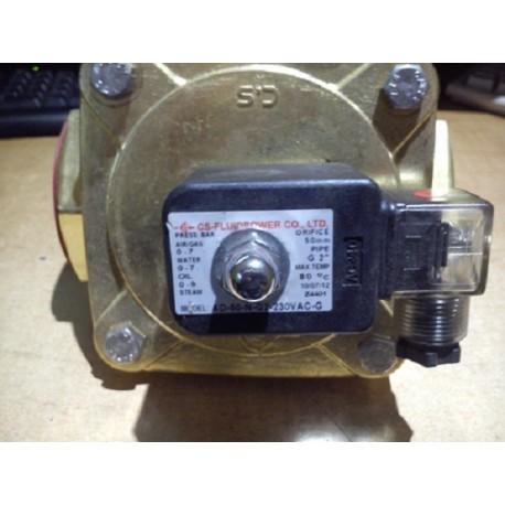 2 inch brass solenoid valve ad-50-n-g2-230vac cs fluidpower