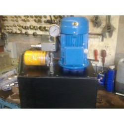 hydraulic power packs single or 3 phase small compact power unit