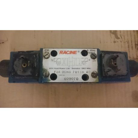 racine fd4 dshs 701sh 40 hydraulic directional valve 110vac