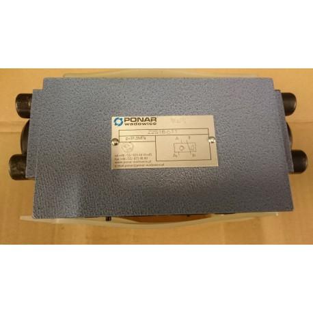 ponar z2s16 size 16 check valve ponar hydraulic valve