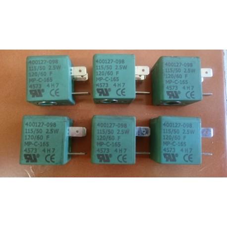 asco joucomatic 400127-098 115v 2.5 w pnuematic valve solenoid