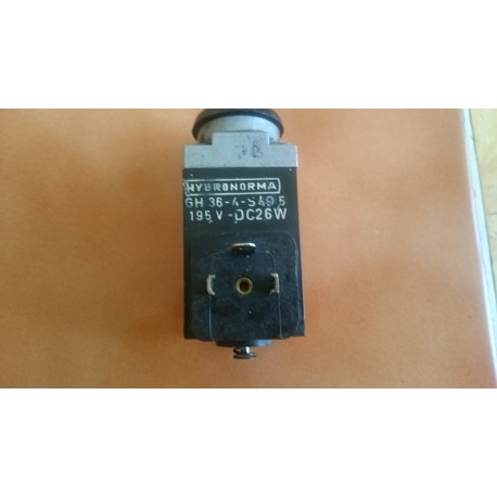 hydronorma gh36-4-s49 195 vdc 26w solenoid