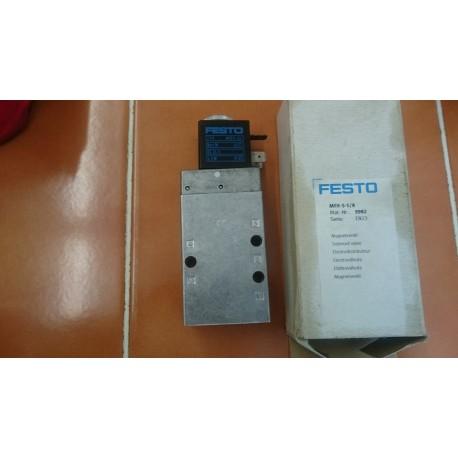 festo mfh-5-1/9 9982 en23 with msfg-24 coil