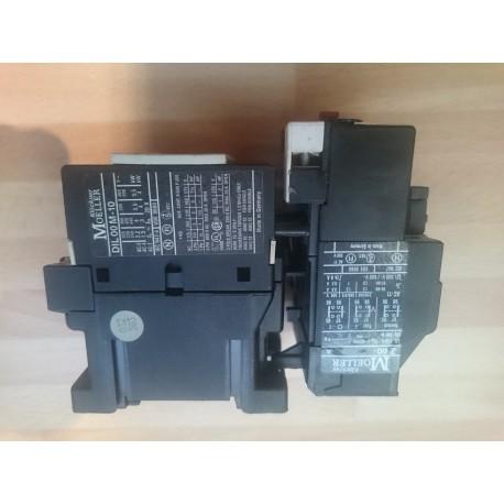 klockner moeller dil 00 m 10 contactor with z 00 10 overload 110v 50hz