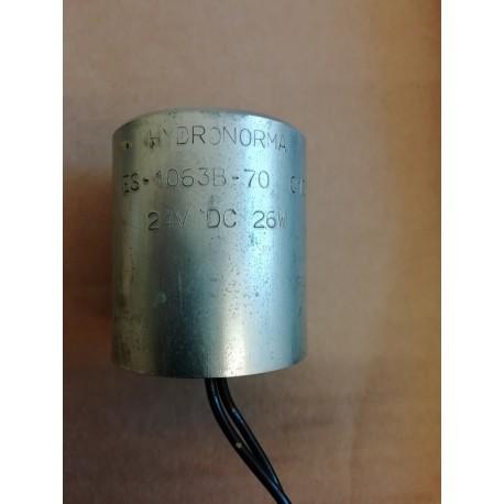 hydronorma es-1063b-70 013 24v dc 26w solenoid