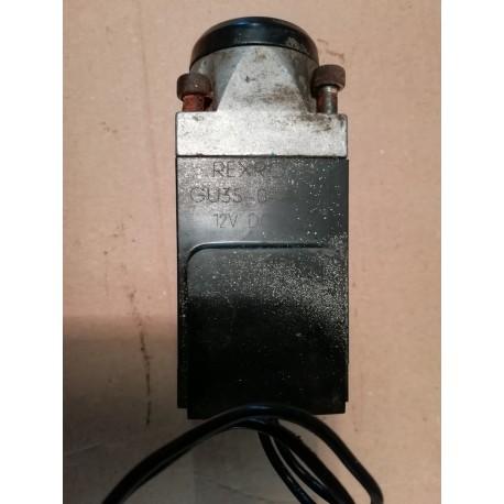 rexroth gu35-0-a 12 vdc 26w solenoid