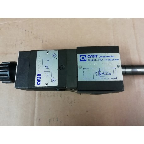 aron oleodinamica ad 66e 121/p qc.3.2.05.4.50 hydraulic flow control valve