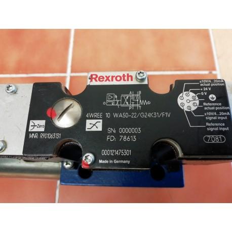 rexroth 4wree 10 wa50-22/g24k31/f1v proportional valve