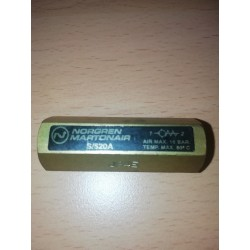norgren s/520acheck valve 1/8 inch bsp 16 bar max 80 deg max