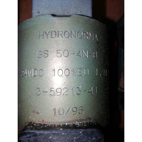 hydronorma gs 50 4n b gs50-4n-b 24 vdc solenoid