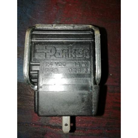 Parker ccso24d solenoid 1/2 id 24 vdc hydraulic valve solenoid