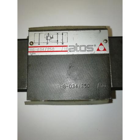 atos hg 034/250/10 pressure reief valve hg 034 250 10