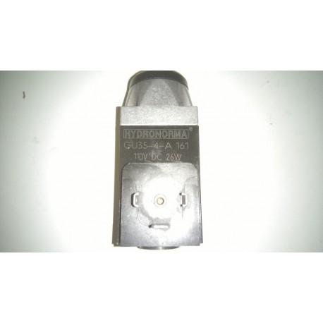 hydronorma gu35-4-a 110v dc 26 w solenoid rexroth gu35