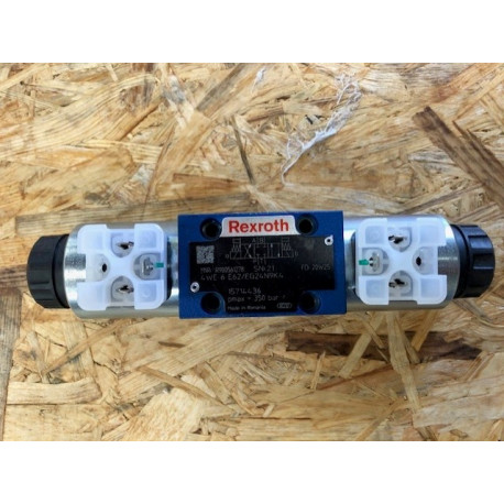 rexroth directional valve 4we6e62/eg24n9k4 cetop 3 24 vdc